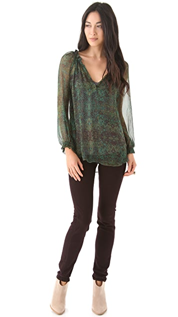 Ella Moss Enchantress Blouse with Long Sleeves