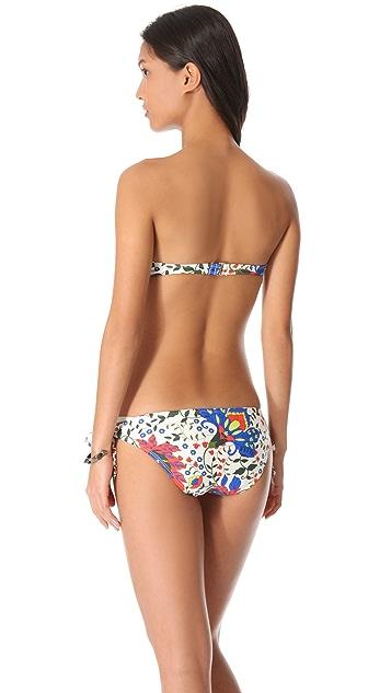 Ella Moss Trellis Bandeau Bikini Top