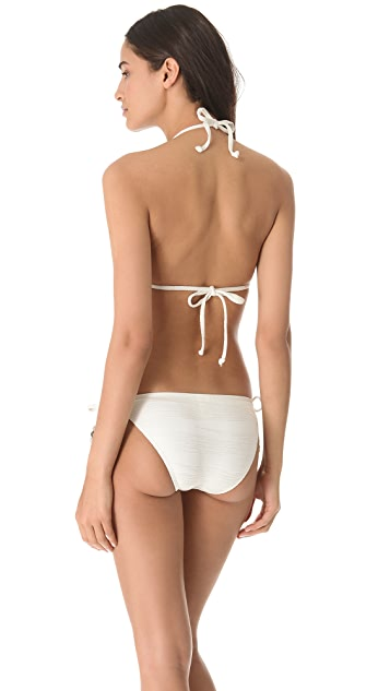 Ella Moss Reflection Triangle Bikini Top