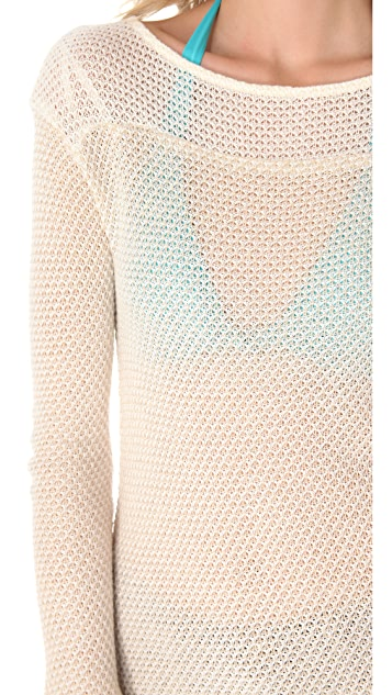 Ella Moss Spruce Long Sleeve Sweater