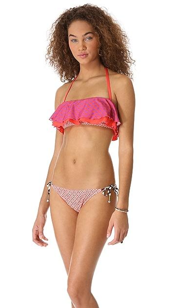 Ella Moss Sun Tile Tie Side Bikini Bottoms