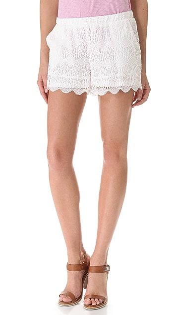 Ella Moss Celeste Lace Shorts
