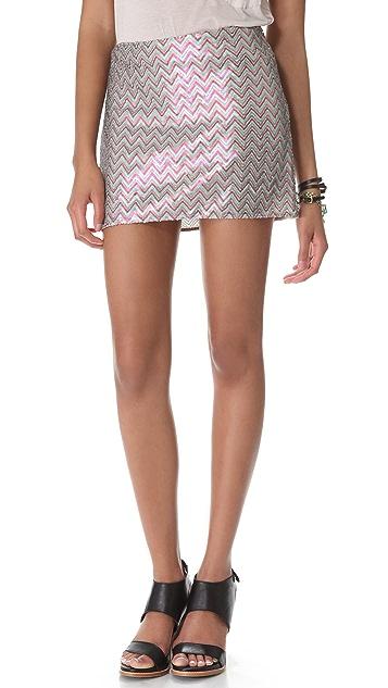 Ella Moss Joliet Sequin Miniskirt