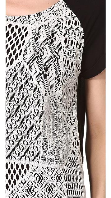 Ella Moss Lily Crochet Top