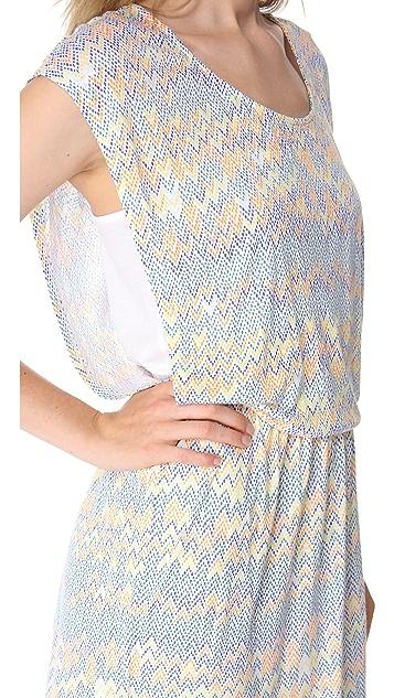 Ella Moss Sand Dune Mini Dress