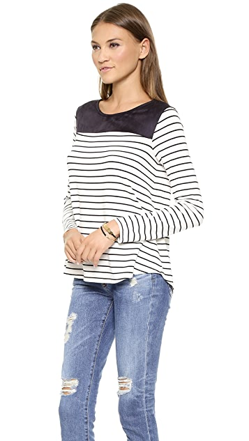 Ella Moss Aleksi Long Sleeve Top