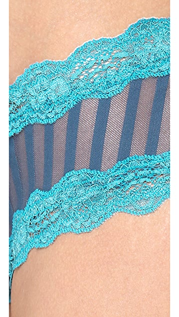 Elle Macpherson Intimates Sheer Ribbons Bikini Briefs