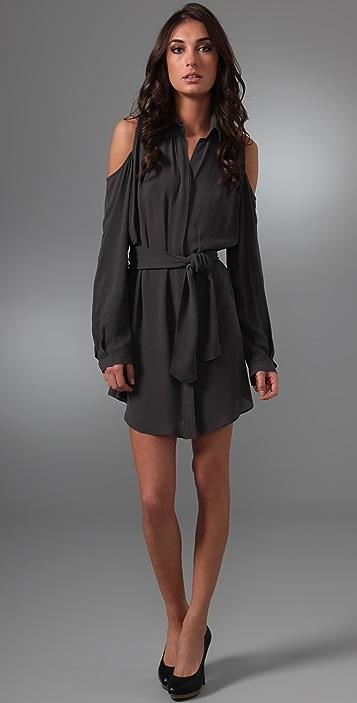 Ellery Vir-bra Shirtdress