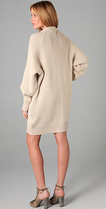 Ellery Sherman Pod Knit Coat