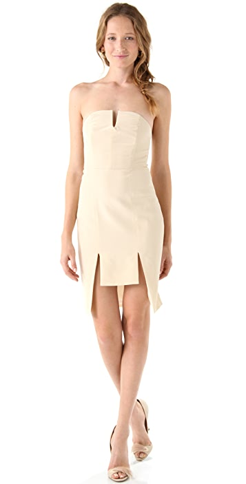 Ellery Lovebug Strapless Dress