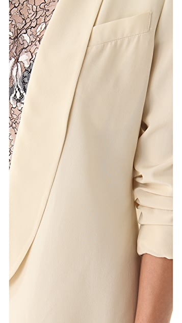 Ellery Duchamp Long Tux Jacket