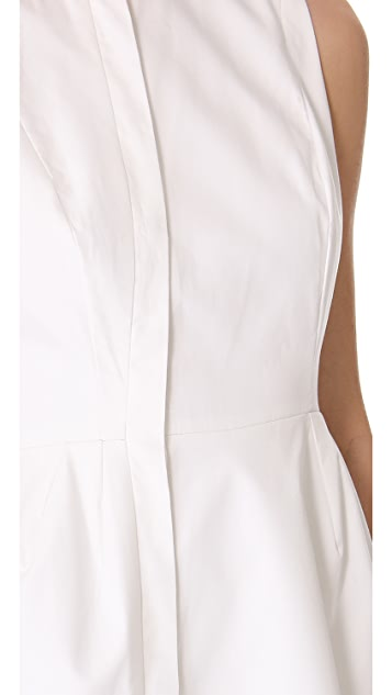 Ellery Asymmetrical Placket Dress