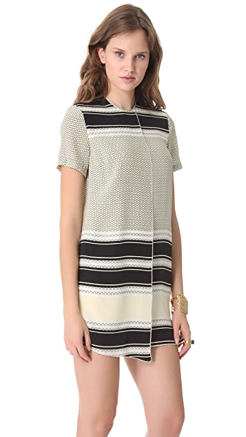 Ellery Charlotte Faux Wrap Dress