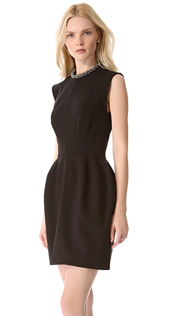 Ellery Dress with Neckpiece
