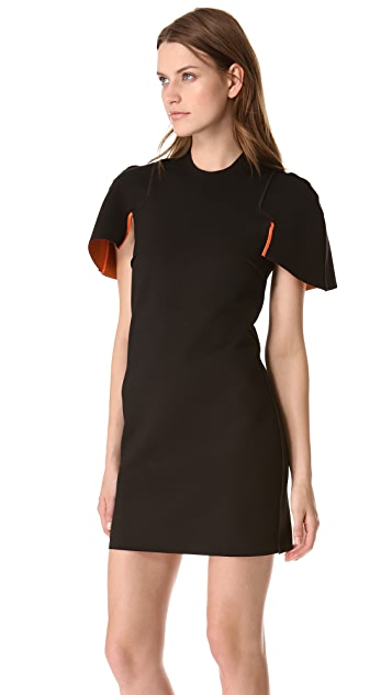 Ellery Cap Sleeve Reversible Dress