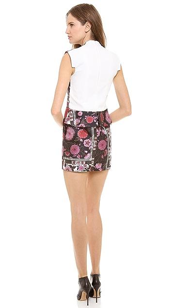 Ellery Paneled Boxy Shift Dress