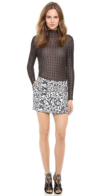 Ellery Low Waist Miniskirt