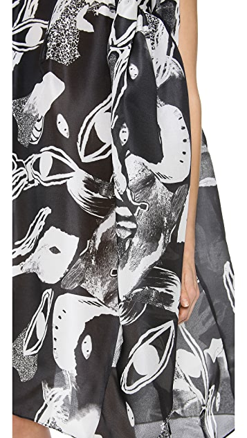 Ellery Existential Oversized Shift Dress