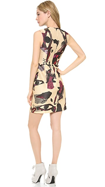 Ellery Segment Shell Top Dress
