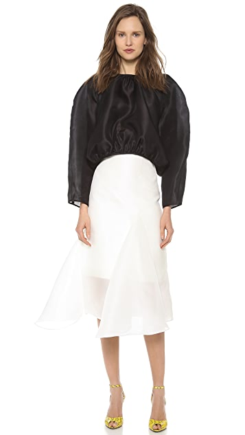 Ellery Suzette Fluted Skirt