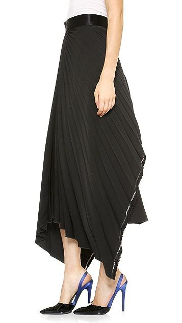 Ellery Cruella De Ville Pleated Skirt