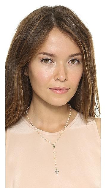 Ela Rae Yaeli Cross Necklace
