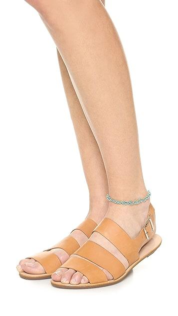 Ela Rae Nori Brass Anklet