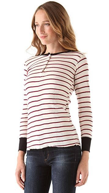 Edith A. Miller Henley Long Sleeve Tee