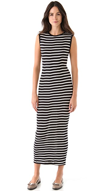 Edith A. Miller Sleeveless Maxi Dress
