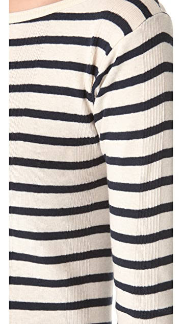 Edith A. Miller Boat Neck Sweater