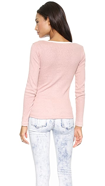Edith A. Miller Scoop Long Sleeve Tee
