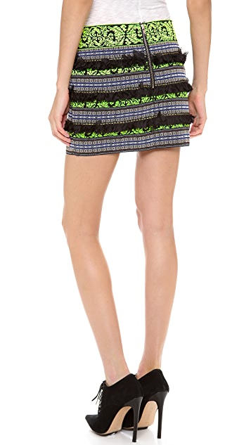 endless rose Tribal Mini Skirt