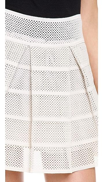 endless rose Power Pleat Miniskirt