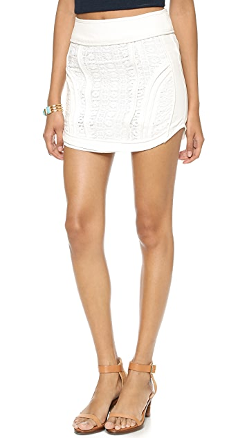 endless rose Textured Skirt