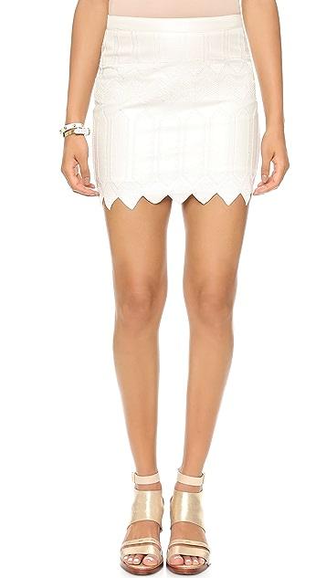 endless rose Zigzag Skirt