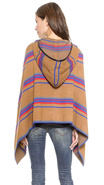 endless rose Modern Meller Poncho