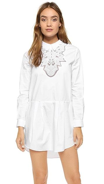 endless rose Lace Placket Dress