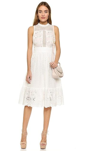endless rose Swiss Lace Dress