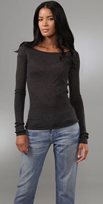 Enza Costa Cashmere Sweater