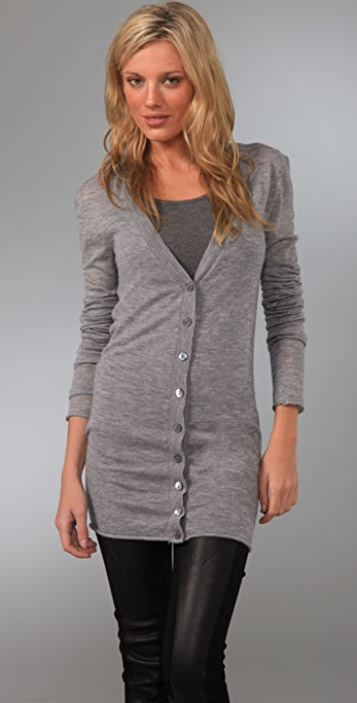 Enza Costa Cashmere Knit Cardigan