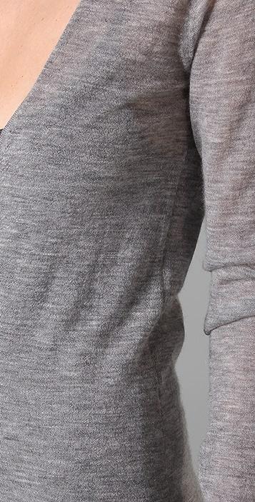 Enza Costa Tissue Cashmere V Tunic