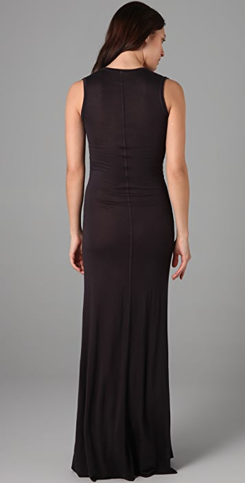 Enza Costa Sleeveless Long Dress