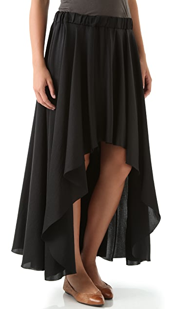 Enza Costa Hi Lo Skirt