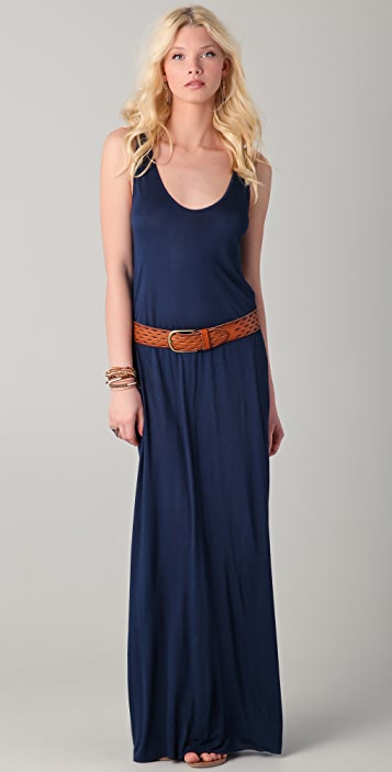 Enza Costa Open Back Maxi Dress