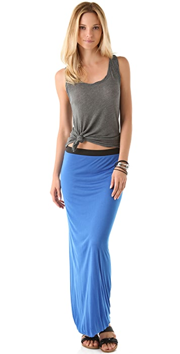 Enza Costa Double Maxi Skirt