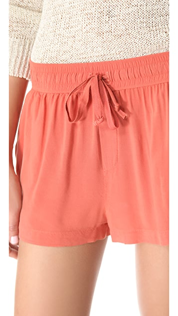 Enza Costa Drawstring Shorts