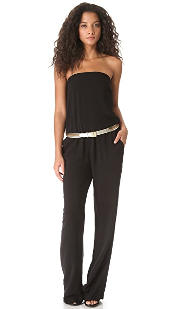 Enza Costa Strapless Jumpsuit