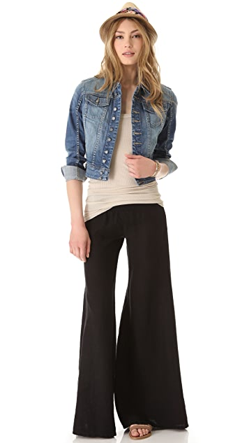 Enza Costa Wide Leg Pants