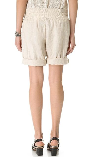 Enza Costa Linen Shorts