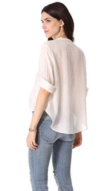Enza Costa Long Sleeve Henley